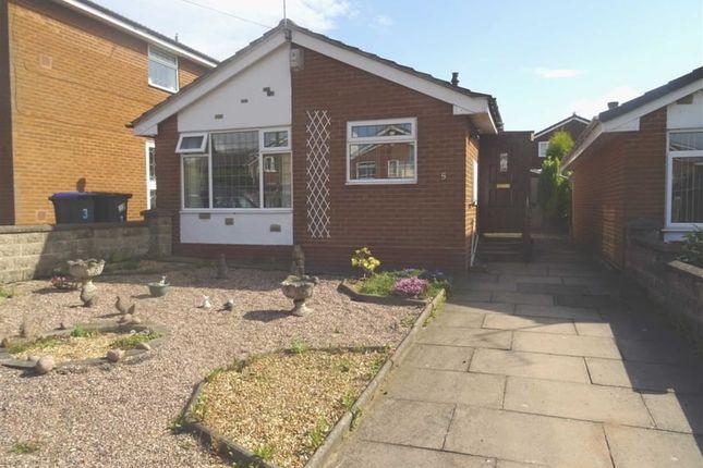 Thumbnail Detached bungalow for sale in Blithfield Close, Werrington, Stoke On Trent