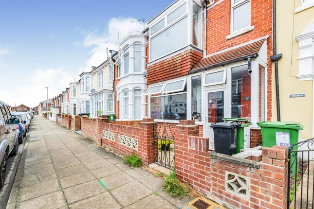 Thumbnail Terraced house for sale in Wykeham Road, Portsmouth