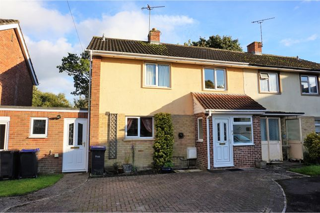 Thumbnail Semi-detached house for sale in Moonrakers Estate, Devizes