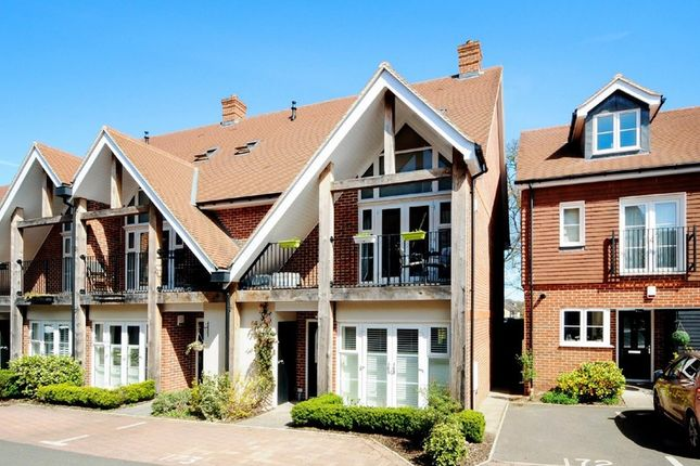 Thumbnail Terraced house to rent in Romans Close, Guildford, Surrey