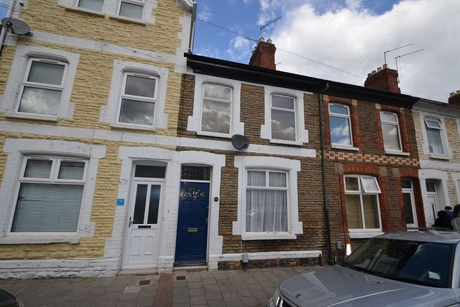 Thumbnail Terraced house to rent in Treharris Street, Roath, Cardiff