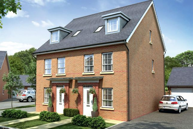 "Thumbnail Semi-detached house for sale in ""Rochester"" at Park Hall Road, Mansfield Woodhouse, Mansfield"
