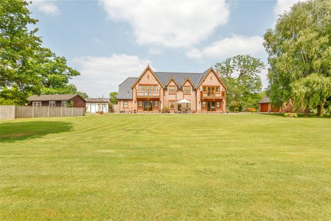 Thumbnail Detached house for sale in Huxley Lane, Tiverton, Tarporley, Cheshire
