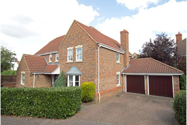 Thumbnail Detached house for sale in Moat Farm Close, Greenfield
