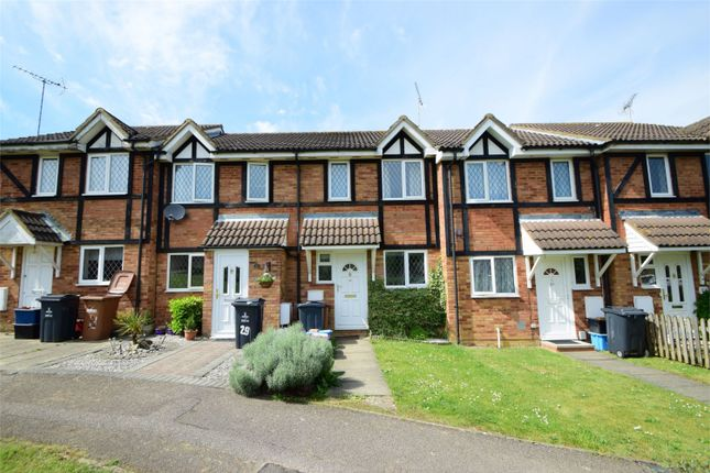 2 bed terraced house for sale in Shearwater Close, Poplars, Stevenage, Hertfordshire