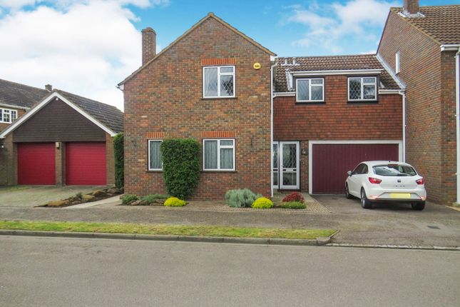 Thumbnail Semi-detached house for sale in Howard Close, Haynes, Bedford