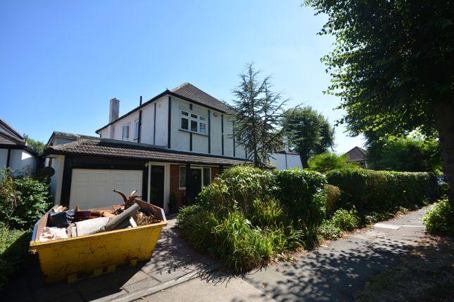 Thumbnail Detached house for sale in Castellan Avenue, Gidea Park, Romford