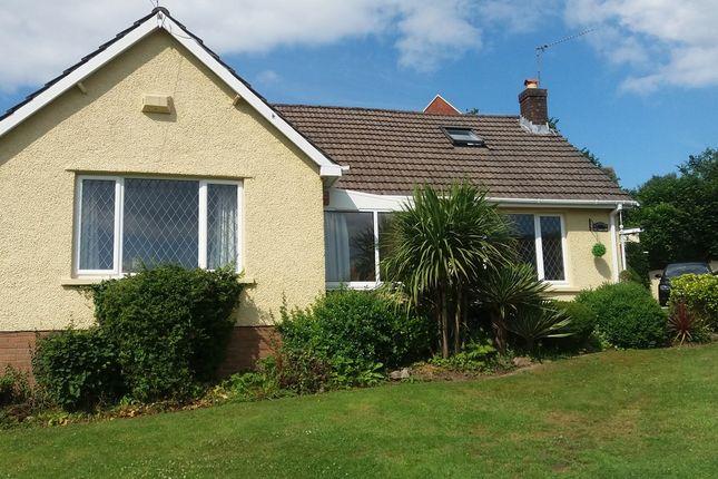 Thumbnail Detached bungalow for sale in Pontymason Lane, Rogerstone, Newport