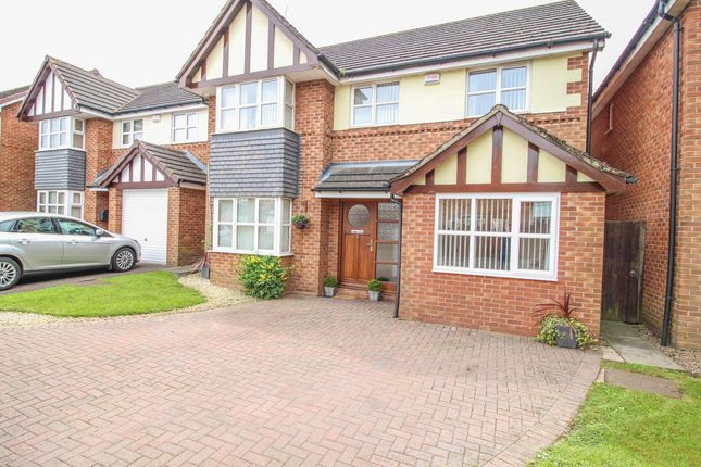 Thumbnail Detached house for sale in Sheldrake Close, Binley, Coventry