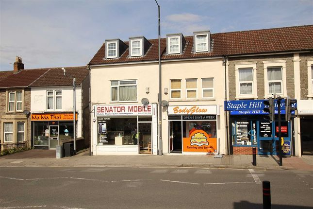 Thumbnail Block of flats for sale in High Street, Staple Hill, Bristol