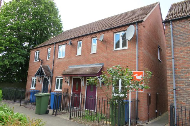 Thumbnail 2 bed end terrace house for sale in The Paddock, Kirton, Boston