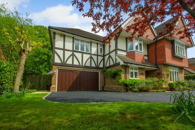 Thumbnail Detached house for sale in Highfield Road, West Byfleet