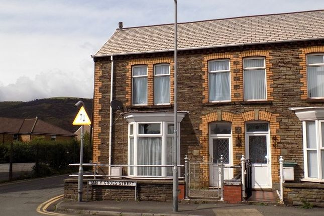 Thumbnail End terrace house to rent in Tanygroes Street, Port Talbot