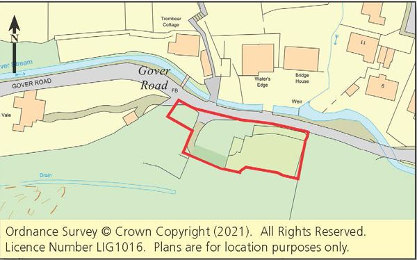 Thumbnail Land for sale in Gover Valley, St. Austell