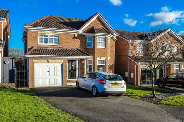 Thumbnail Detached house for sale in Honeysuckle Close, Darfield, Barnsley