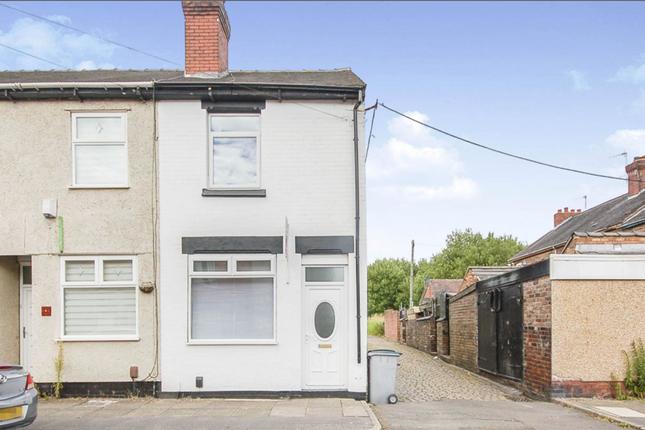 Thumbnail End terrace house for sale in Carron Street, Stoke-On-Trent