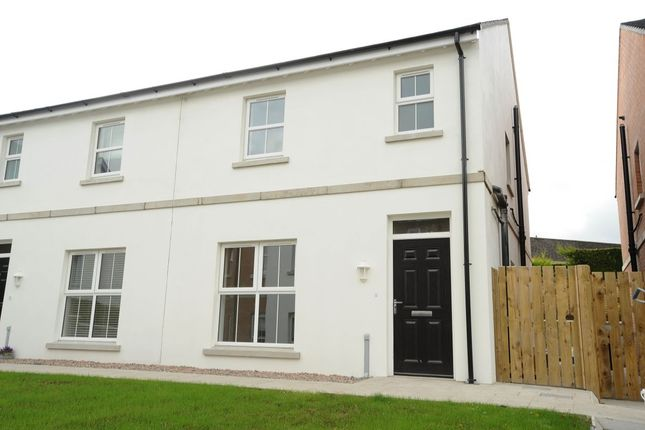 Thumbnail Semi-detached house for sale in Galway Drive, Dundonald, Belfast