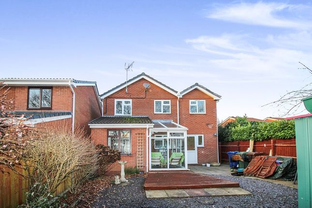 Thumbnail Detached house for sale in Clover Meadows, Heath Hayes, Cannock