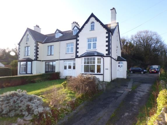 Thumbnail Semi-detached house for sale in Bangor Road, Benllech, Anglesey, North Wales