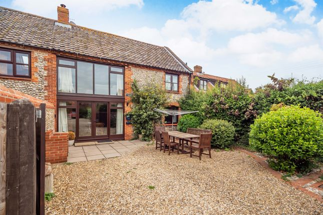 Thumbnail Barn conversion for sale in Holt Road, Weybourne, Holt