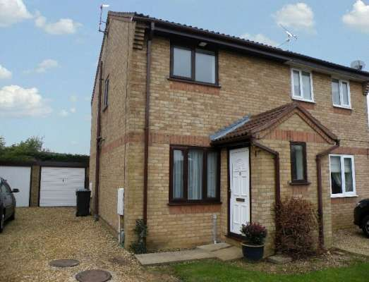 2 bed semi-detached house to rent in Wycliffe Grove, Werrington, Peterborough PE4