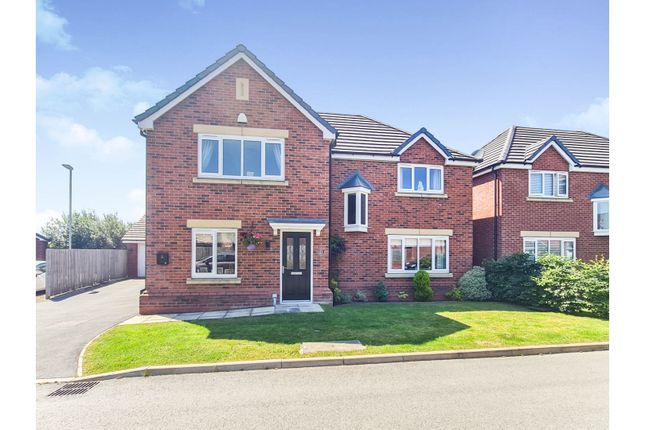 Thumbnail Detached house for sale in Willowbank Close, Leyland