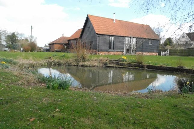 Thumbnail Barn conversion for sale in Old Newton, Stowmarket