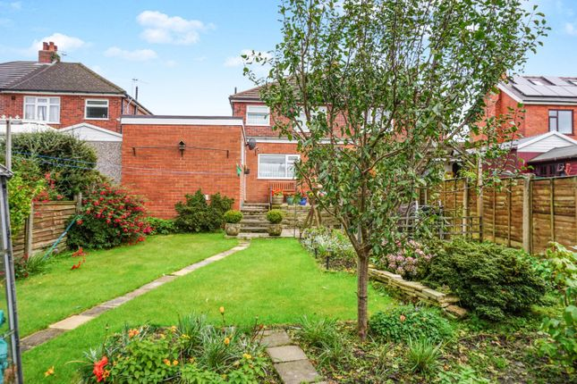 Rear Garden of Highfield Road North, Chorley PR7