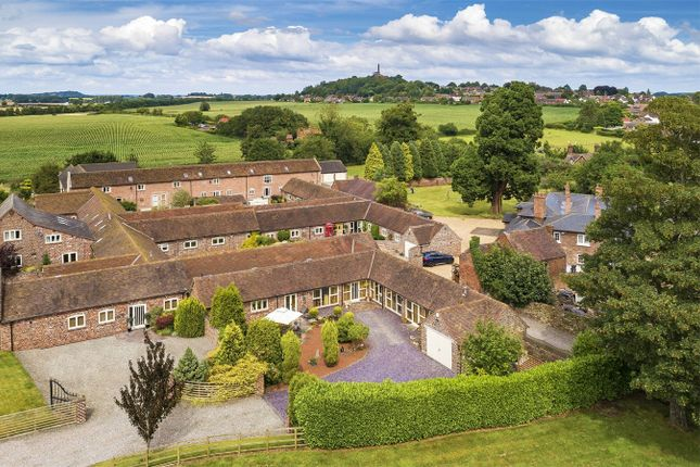Thumbnail Link-detached house for sale in Honnington Grange Farm, Wellington Road, Honnington, Newport, Shropshire