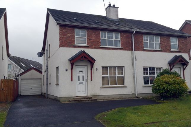 Thumbnail Semi-detached house for sale in Redwood Park, Coleraine