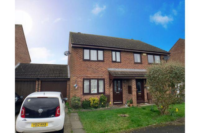 Thumbnail Semi-detached house for sale in Hembury Close, Hardwicke