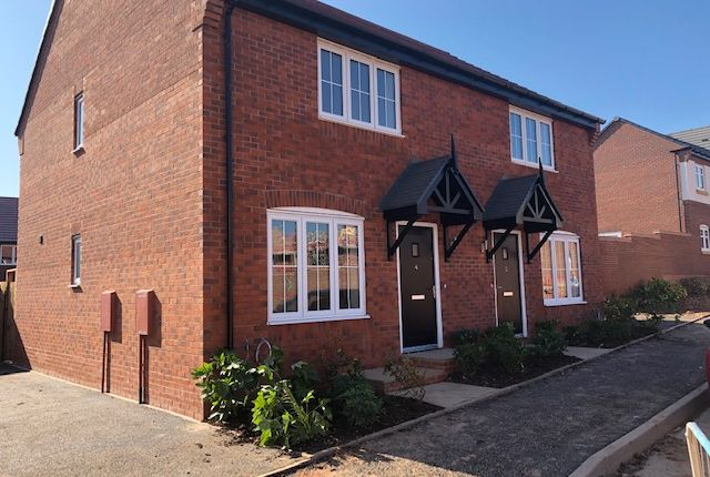Thumbnail 2 bedroom semi-detached house for sale in Burton Road, Lichfield