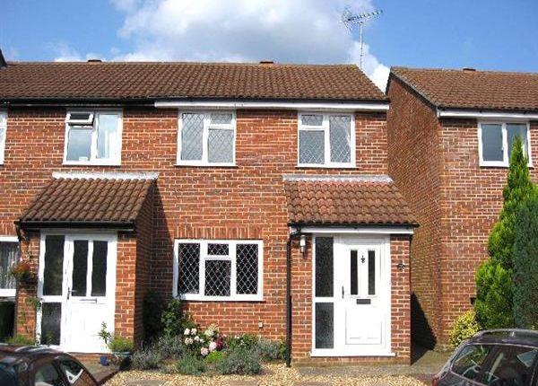 Thumbnail End terrace house to rent in Blackthorne Close, Bordon