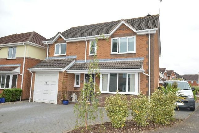 Thumbnail Detached house for sale in Greylag Close, Whetstone, Leicester