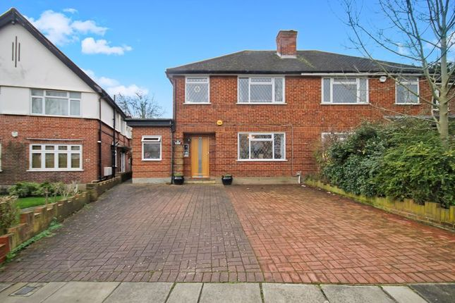 Semi-detached house for sale in Ormsby Gardens, Greenford