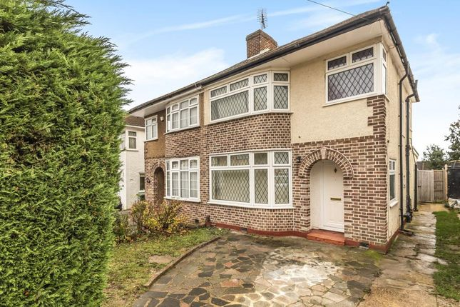 Thumbnail Semi-detached house to rent in Rocklands Drive, Stanmore