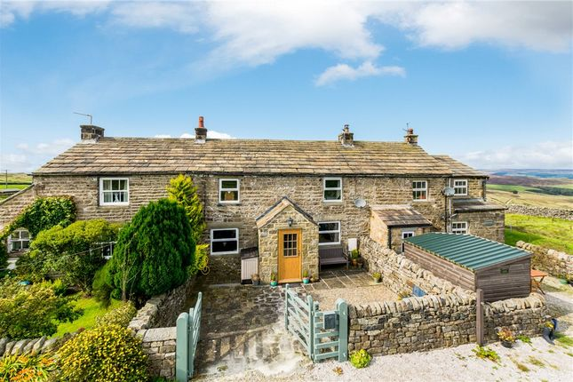 Approach of Whiterow Cottages, Greenhow Hill, Harrogate, North Yorkshire HG3