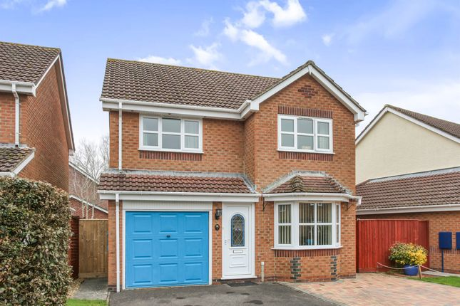 Thumbnail Detached house for sale in Bramley Close, Warminster