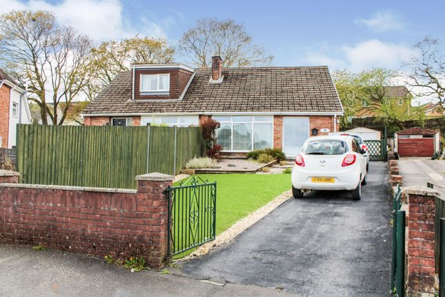 Thumbnail Semi-detached bungalow for sale in Chester Close, Heolgerrig