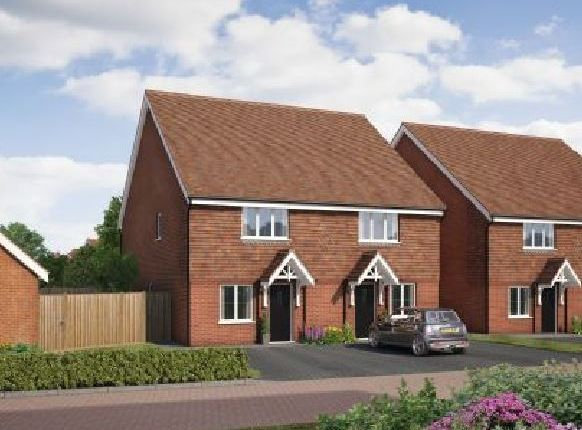 Thumbnail Semi-detached house for sale in Old Bisley Road, Frimley, Surrey