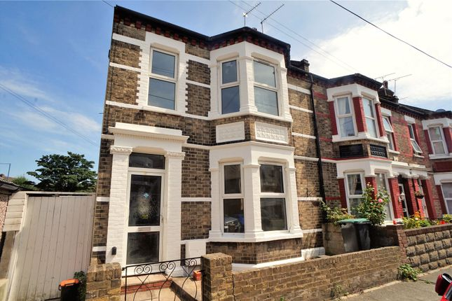Thumbnail End terrace house for sale in Cumberland Avenue, Gravesend, Kent