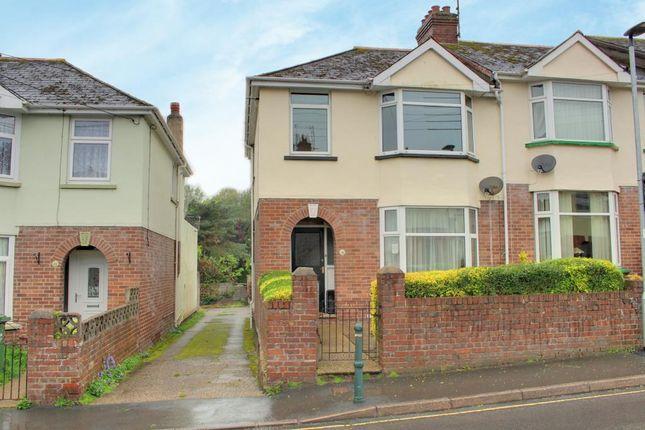 Thumbnail End terrace house for sale in Abbey Road, Barnstaple