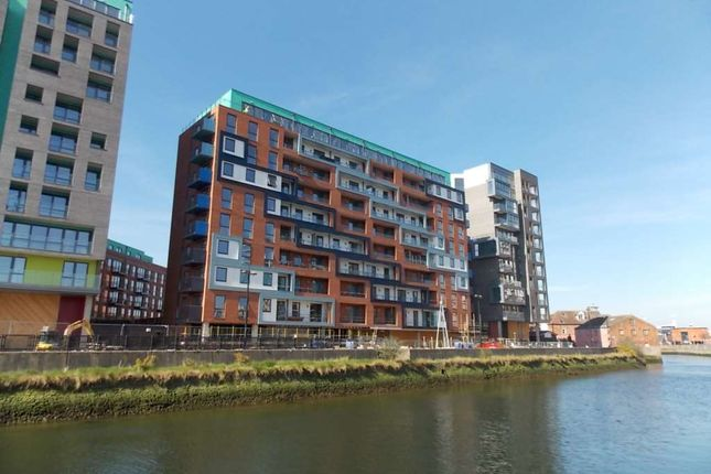 Thumbnail 2 bed flat to rent in Eclipse Court, Stoke Quay
