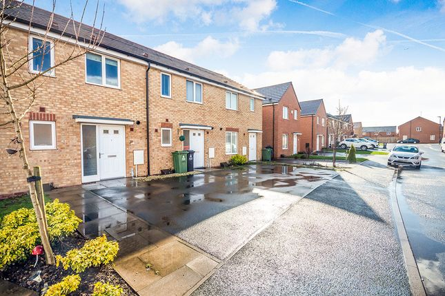 Thumbnail Terraced house for sale in Lakelot Close, Willenhall