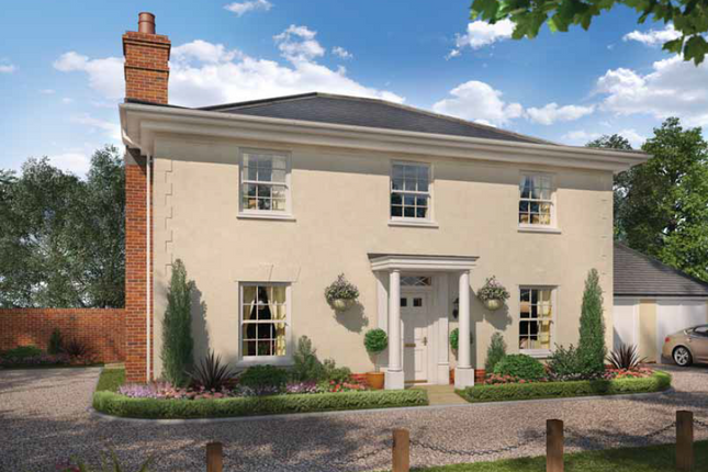 Thumbnail Detached house for sale in The Thorpe, Oakley Park, Mulbarton, Norfolk