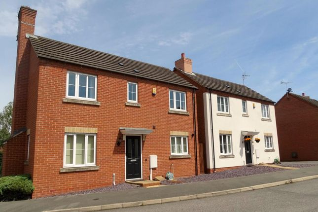 Thumbnail Detached house to rent in Chapel Fields, Ravenshead, Nottingham