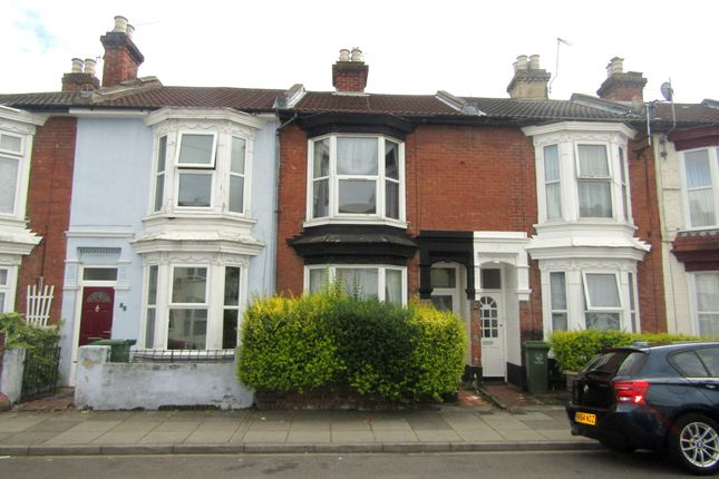 Thumbnail Terraced house to rent in Manor Road, Portsmouth, Hampshire