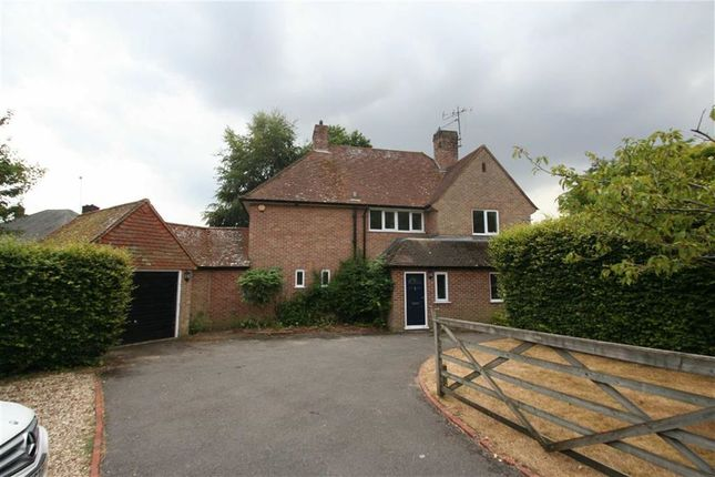 Thumbnail Detached house to rent in High Street, Hermitage, Thatcham