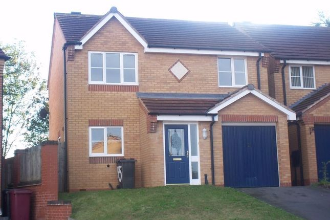 Thumbnail Detached house to rent in Bracken Road, Shirebrook, Mansfield