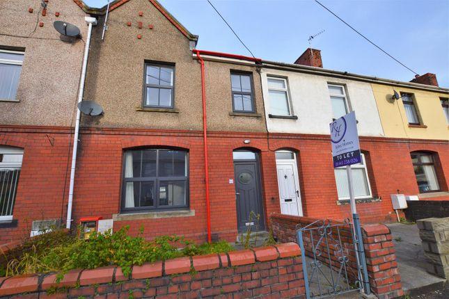 Thumbnail Terraced house to rent in Rose Terrace, Llanharan, Pontyclun